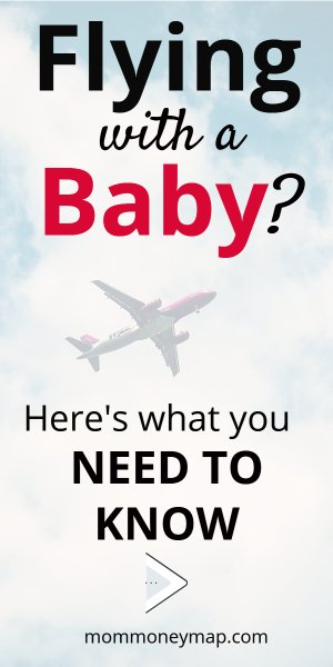 Traveling with a baby on a plane