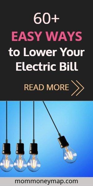 reduce electrical bill