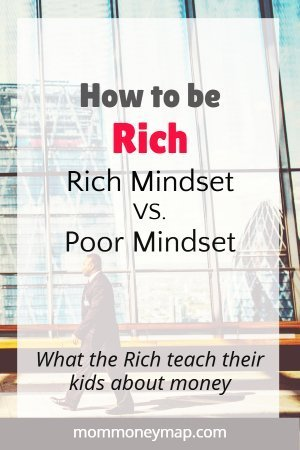 Difference between a rich vs poor mindset