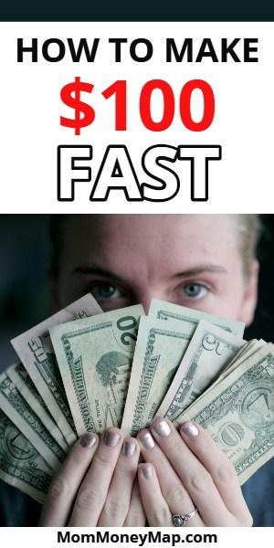 earn $100 fast