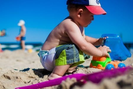 Beach with Toddler