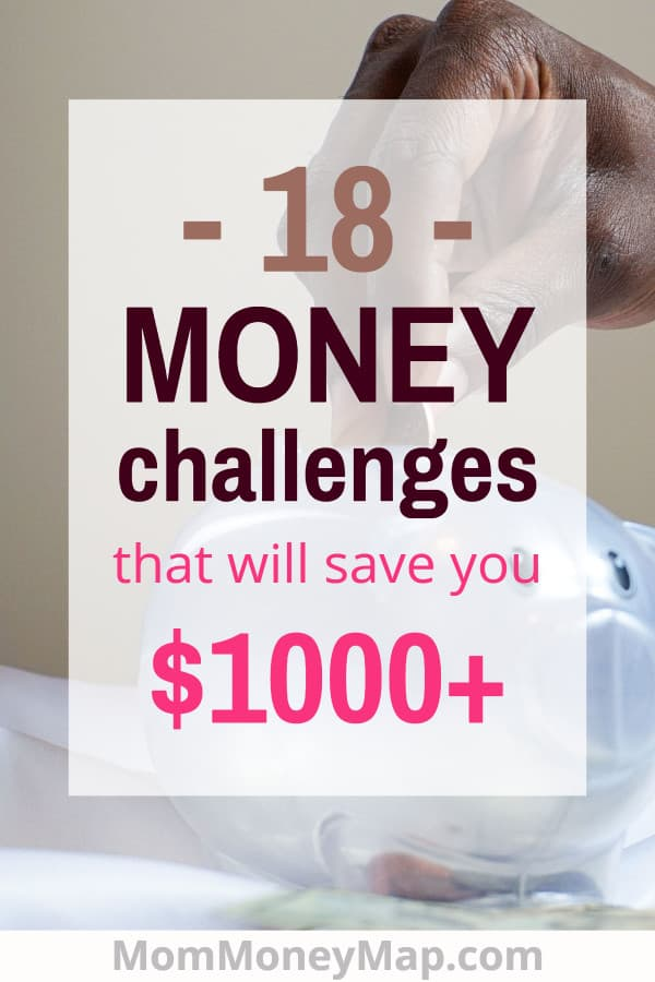 Monthly savings challenge