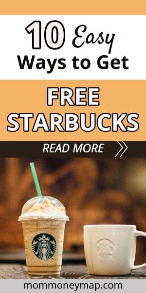 Starbucks survey free drink