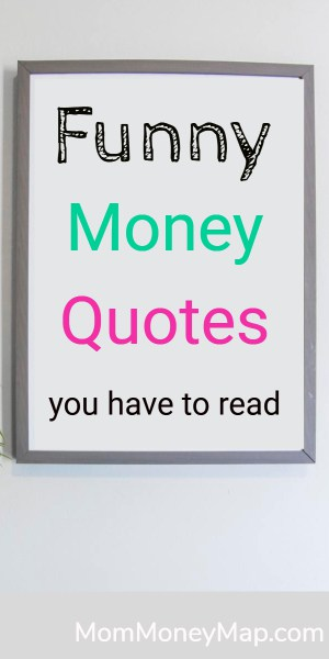 funny money saving quotes