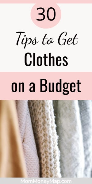 How to buy clothes really cheap