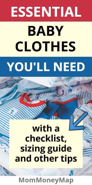 Newborn clothes list