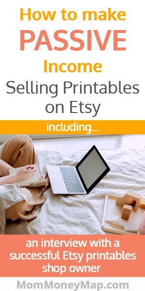 Making money with digital downloads on etsy