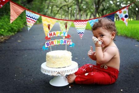 Simple 1st birthday
