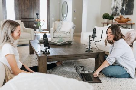 how do I get a job on a podcast