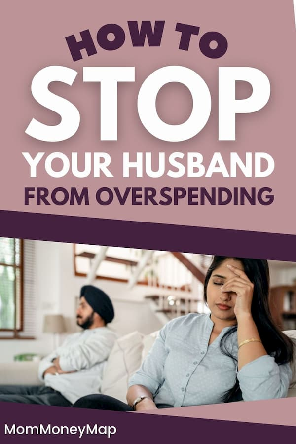How to deal with an overspending spouse