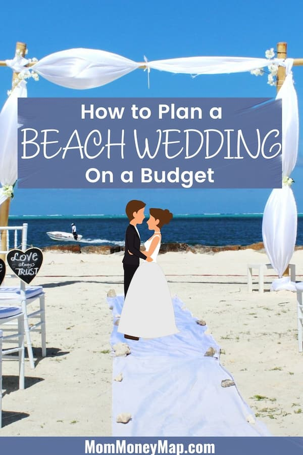 how to have an inexpensive beach wedding