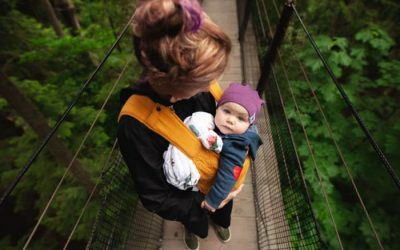 Baby Wearing on a Budget Tips & Tricks